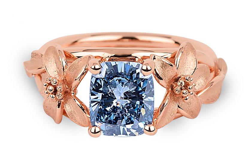 Ringe Mit Farbigen Diamanten Kaufen Verlobungsringe Profis